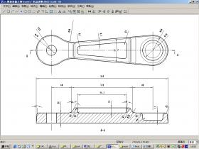 CAXA三轴编程教程:连杆三维造型建模及数控编程加工