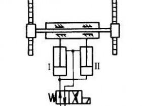 液压同步控制回路原理分析