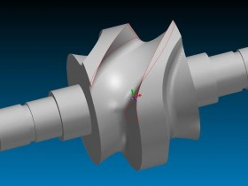 CAXA CAM制造工程师四轴凸轮轴建模及数控编程加工