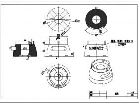 CAXA制造工程师官方教程:四轴叶轮配套底座造型及加工