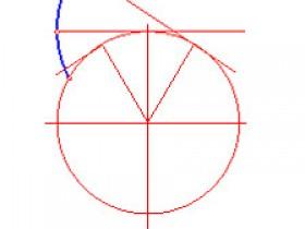 机械制图:圆的渐开线画法作图