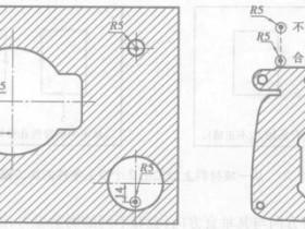 线切割穿丝孔位置选择及加工
