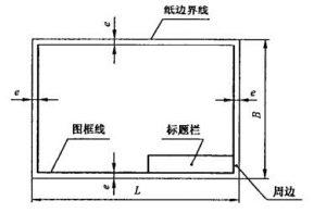 机械制图图纸幅面尺寸和格式要求