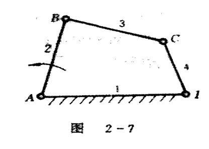 机械原理:平面机构运动简图及自由度