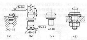 工装设计基础:工件以孔定位时定位元件的选择